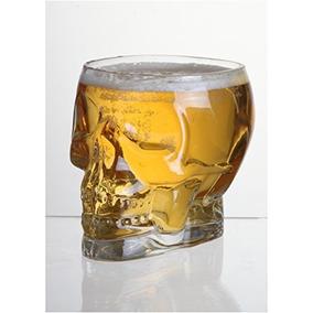 Cráneo De Cristal Con Forma De Jarrón Decorativo / Vaso De