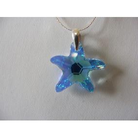 Cadena Con Dije Estrella De Mar Crystal Swarovski Elements