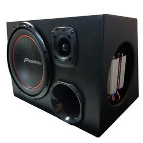 Caixa Trio Pioneer 12 + Jbl St200 + D200 + Taramps Ts400x4*