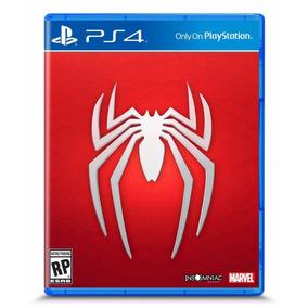 El Hombre Araña Spiderman Playstation 4 Ps4 Videojuego