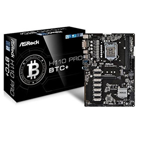 Asrock H110 Pro Btc+ Mining Motherboard With 13 Pci Express