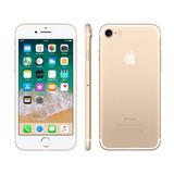 Iphone 7 32gb Dourado Desbloqueado Ios 10 Wi-fi + 4g Câmera
