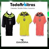 Pack 3 Casacas Diadora Arbitro Afa 2017 Referee Todoarbitros
