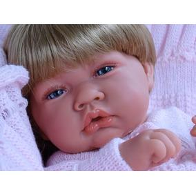 Bebe Reborn Mirela C/ Manta E Enxoval Pronta Entrega