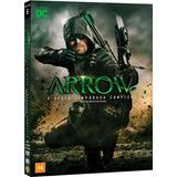 Dvd Arrow - 6ª Temporada - 5 Discos - Lacrado & Original