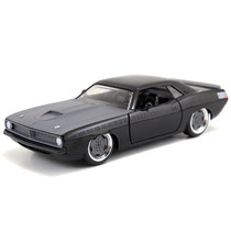 Fast And Furious Jada Barracuda Plymouth 1970 Negrogris 1:32
