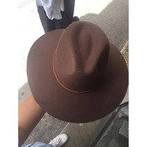 Sombrero Indiana Jones Cafe Y Beige Marca Vanwho