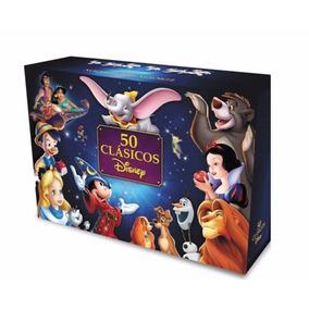 50 Clasicos De Disney, De Coleccion, 50 Peliculas En Dvd Esp
