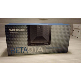 Microfone Shure Beta 91a - Bumbo Piano - Mexico - Original