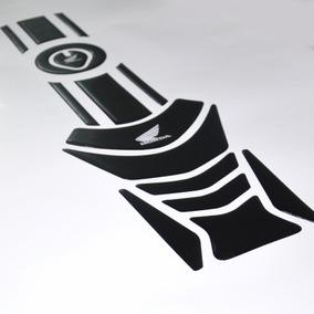 Protetor Tanque Faixa Bocal 3d M4 Moto Honda Cg Fan 125 150