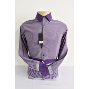Camisas Sociais Masculina Tommy Hilfiger Mangá Longa