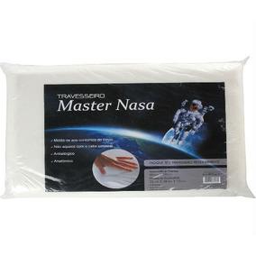 Travesseiro Nasa - Antialérgico -toque Macio Fibra