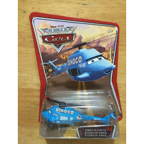 Disney Pixar Cars World Of Cars Helicoptero Dinoco # 27 .