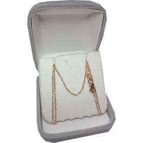 Cadena Oro 18k Forcet 1,9grs 50cm Hombre Mujer Garantia Jr