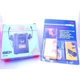 Personal Stereo Cassette + Mini Radio Pack Vintage Nuevo