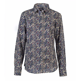 Camisa Brooksfield Mujer Moda Liberty Estampada Bm03088z