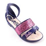 Sandalia Barbie 21365 Infantil Menina Rosa + Bolsa Brinde