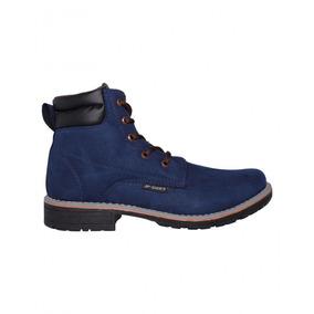 Bota Casual Caballero Nobuck Marino Marca Jp Shoes