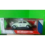 Auto Juguete 1967 Volkswagen Kafer Herbie 53 De 1:18 Nuevo