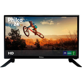 Tv 24 Polegadas Led Philco Hd Conv. Digital Ptv24 Hdmi Usb