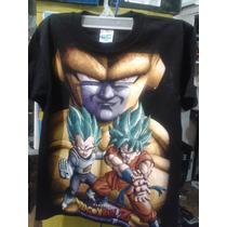 Playera Para Niño Goku La Resurreccion De Freezer Vegeta