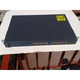 Switch Cisco 3560 Ws-c3560-24ps-s 24 Puertos Poe Capa 3