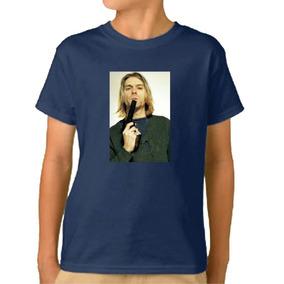 Remera Niño- Nirvana Kurt Cobain Musica Punk Rock M20