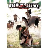 Manga, Kodansha, Attack On Titan Vol. 20 Ovni Press