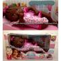 Boneca Baby Nenenzinha Recém Nascida Alive Negra Divertoys