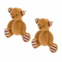 Aretes Oso 3d Teddy Bear Coleccion Prism Katy Perry Claires