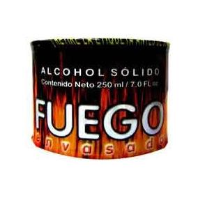 6 Latas De Alcohol Solido, 250ml, Para Cocina Etc