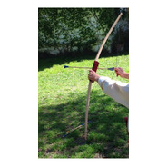 Kit Arco +3 Flechas Madera Juego Infantil Tiro A Blanco Baum