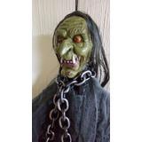Adorno Esqueleto Fantasma Animado Halloween