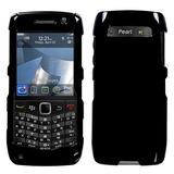 Rim Blackberry 9100 (pearl 3g) Negro Sólido Caso De La Cubi