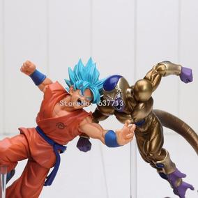 Goku Ssjg + Golden Freeza Kit Action Figure Dragonball Super