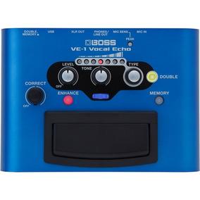 Pedaleira Boss Roland Ve 1 Processador Efeitos Ve1 + Fonte