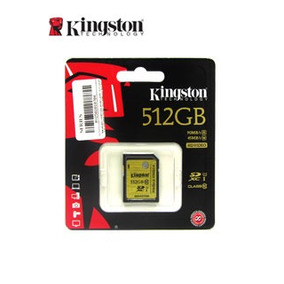 Memoria Flash Sdxc Kingston Class10 Uhs-i, 512gb.