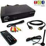 Decodificador Receptor Tdt Tv Digital Terrestre + Antena