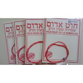 Hilo Rojo De La Kabbalah Con Dije De Ojo