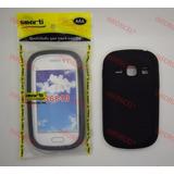 Capa Smarti Silicone Samsung Galaxy Fame S6810 S6812 Preto