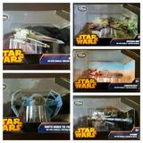 Star Wars Disney Store X-wing B-wing Tie Fighter Landspeeder