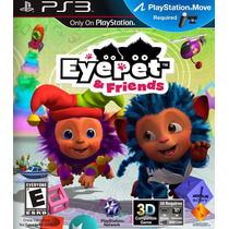 Eye Pet & Friends Ps3 - Original Lacrado - Frete 10,00