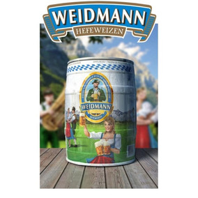 Barril Cerveza Weidmann Trigo X5 Litros Lavinotecadebanfield