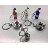 Llavero Tunning Nitro Garrafa Aluminio Nos Turbo Pisteros