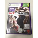 Jogo De Treinamento Xbox 360 - Kinect - Ufc Trainer