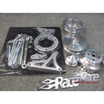 Ford 79-93 5.0, 302 Mustang Kit Bases Y Poleas De Aluminio