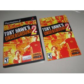 Ps2 Tony Hawks Underground 2 Original Americano Completo !!!