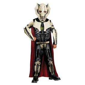 Disfraz Star Wars General Grievous Para Niño Talla S