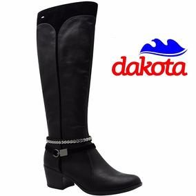 Bota Montaria Dakota Cano Longo Salto Marrom B8421