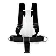 Backplate De Alumínio Com Harness System Para Mergulho Cetus